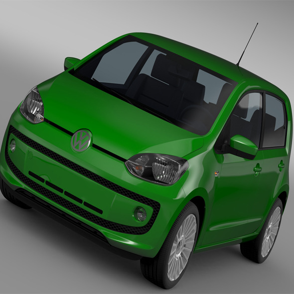 VW Eco UP 5 door 2013 - 3DOcean Item for Sale