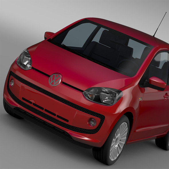 VW UP 5 door 2012 - 3DOcean Item for Sale