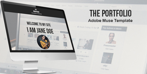 The Portfolio - Creative Muse Template - Creative Muse Templates
