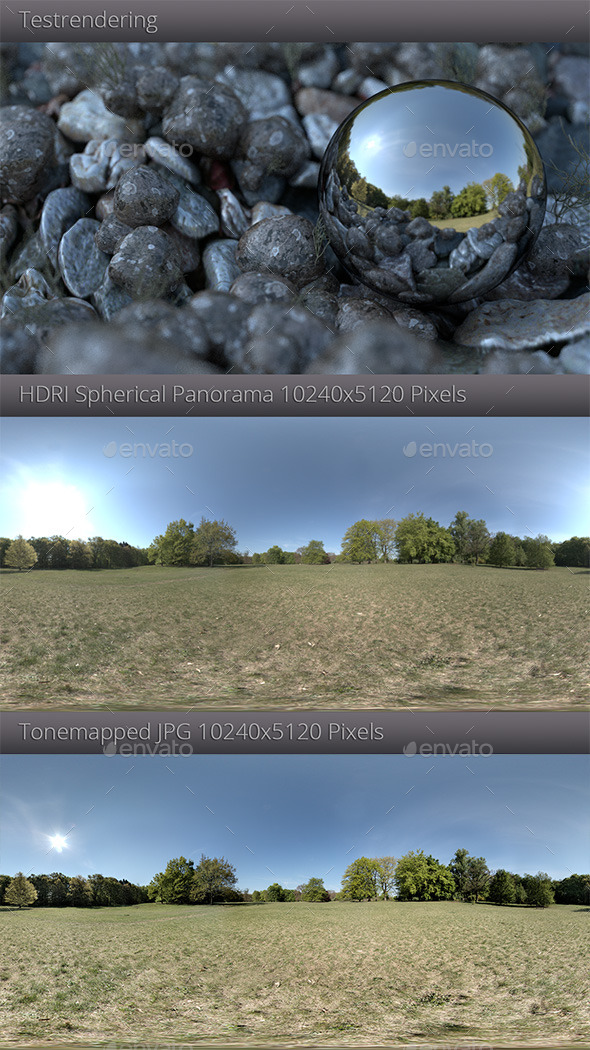 HDRI - Sunny Meadow - 3DOcean Item for Sale