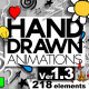 Hand Drawn Animations - Ver 1.3 - VideoHive Item for Sale