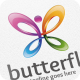 Butterfly - Logo Template - GraphicRiver Item for Sale