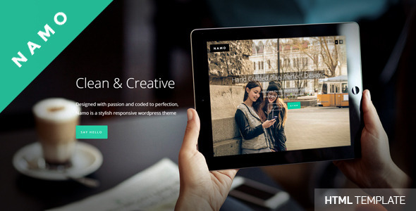 NAMO – Creative Multi-Purpose HTML5 Theme