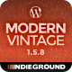 Modern Vintage | One Page WordPress Theme - ThemeForest Item for Sale