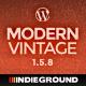Modern Vintage | One Page WordPress Theme - ThemeForest Item for Sale