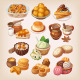 Colorful Traditional Mexican Desserts - GraphicRiver Item for Sale
