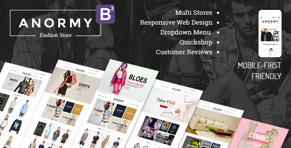Anormy – Flexible Shopify Template