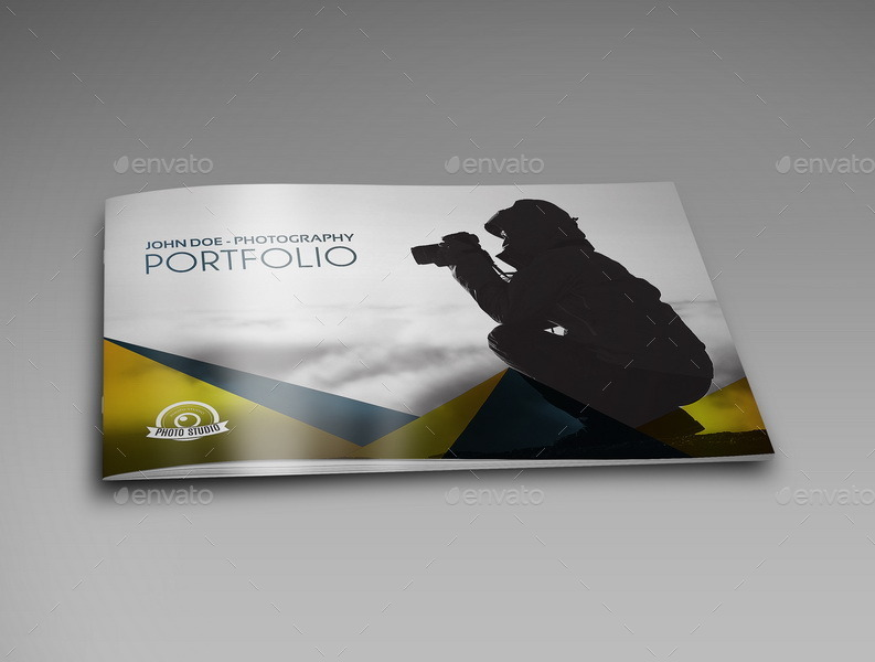 Photography Portfolio Brochure Template Pages By OWPictures - Portfolio brochure template