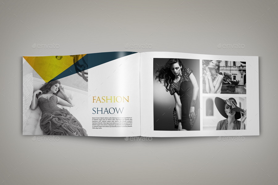 Photography Portfolio Brochure Template Pages By OWPictures - Photography brochure templates