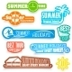 Summer Labels - GraphicRiver Item for Sale