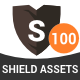 100 Shield Logo Assets - GraphicRiver Item for Sale