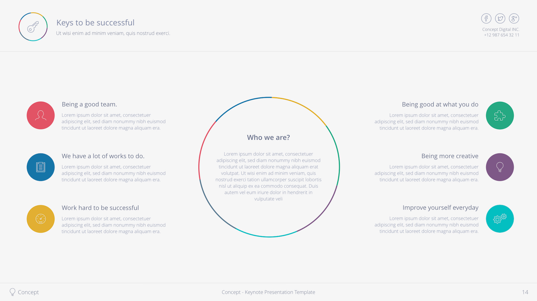 Concept Keynote Template by VigitalArt | GraphicRiver