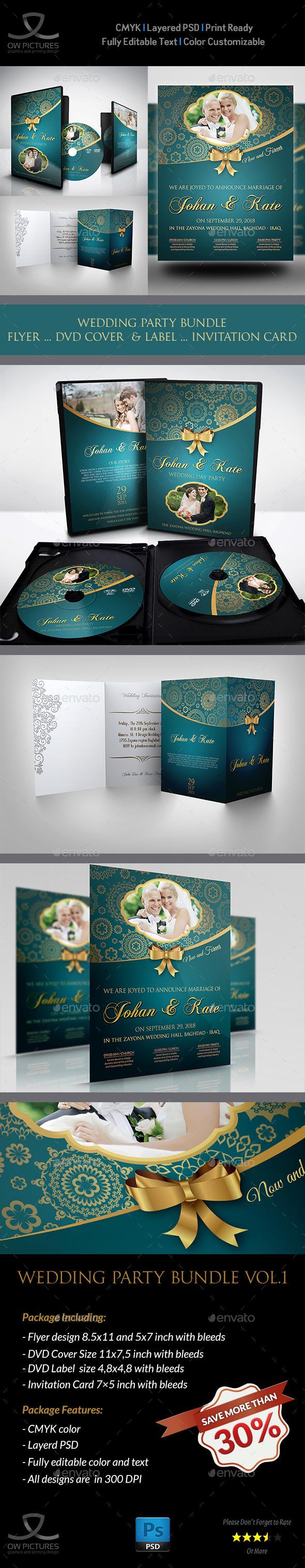 Wedding Party Bundle Vol.1