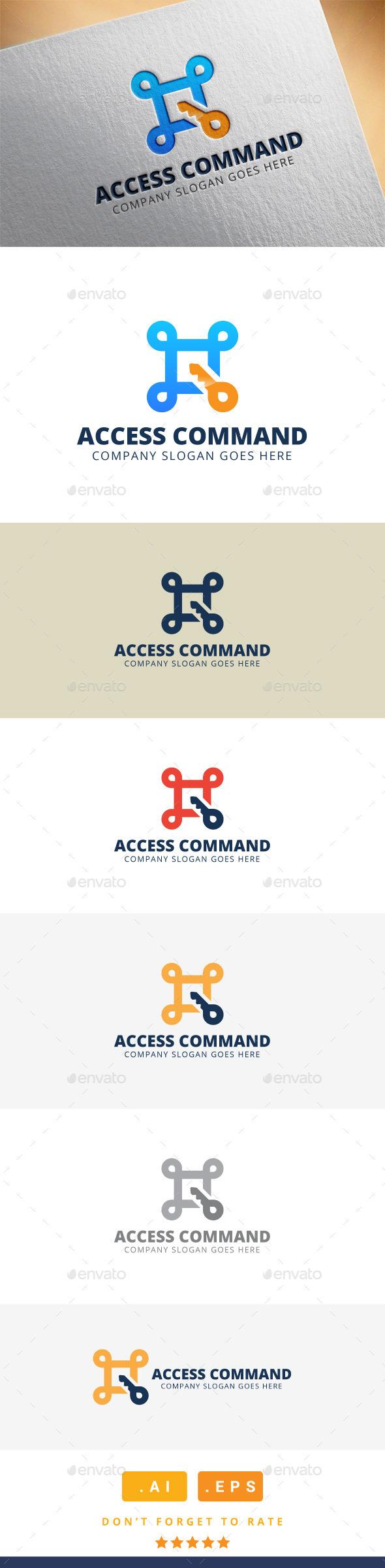 Access Command Logo - Logo Templates