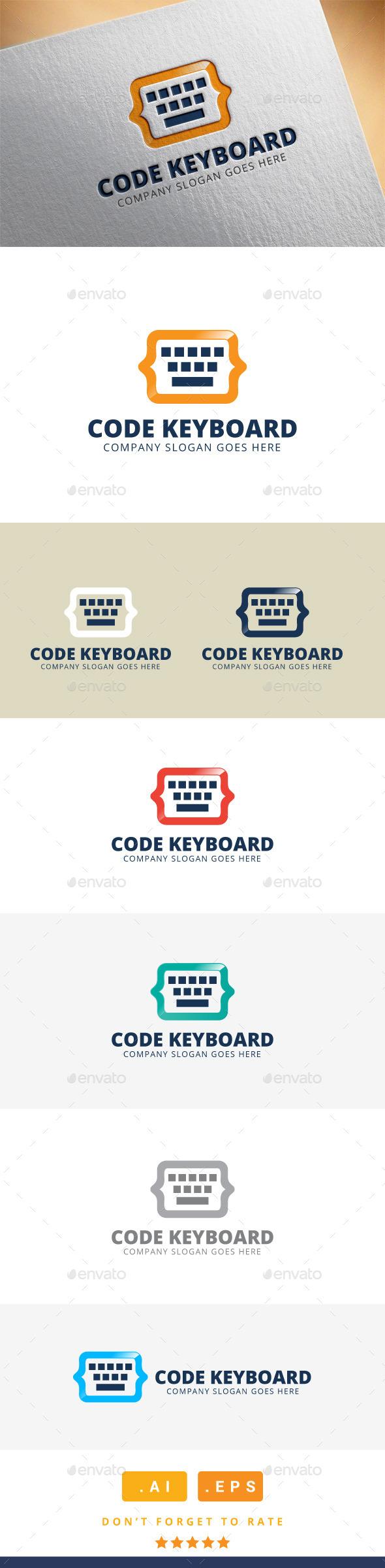 Code Keyboard Logo