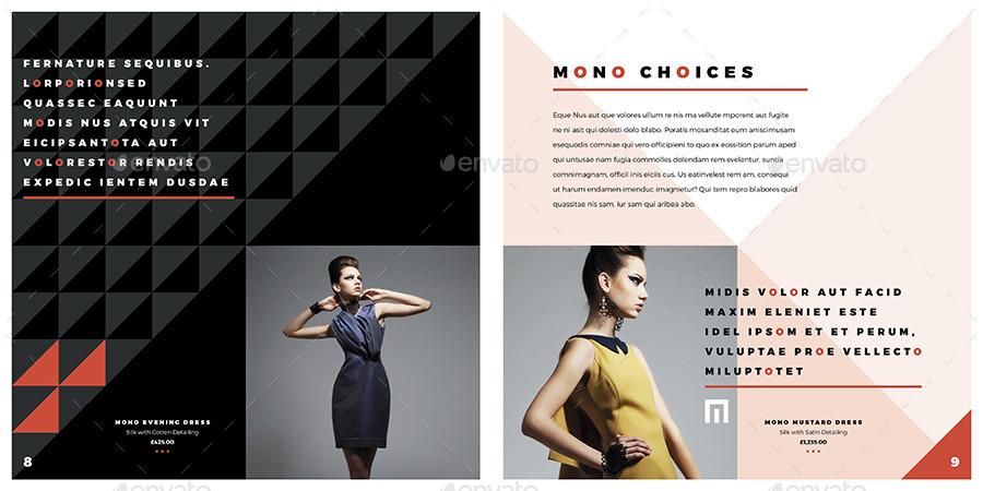 12 Page Square Fashion Brochure by Shukerman | GraphicRiver
