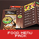 Food Menu Pack - GraphicRiver Item for Sale