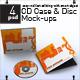 CD Case & Disc Mock-ups - GraphicRiver Item for Sale