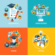 Flat Design Concept Icons for Education - GraphicRiver Item for Sale