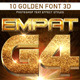 10 Golden Font 3D_4 - GraphicRiver Item for Sale