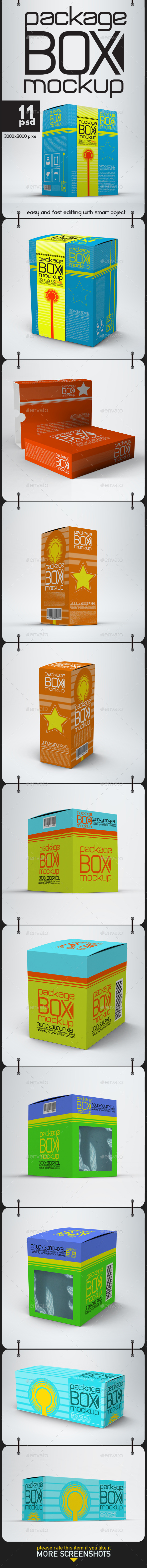 Boxes Mock Up