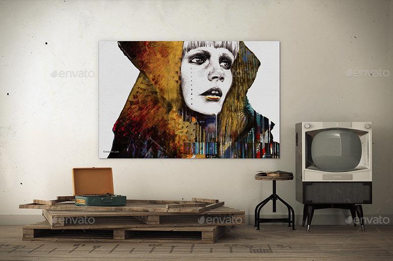 Art Wall Mockups Vol 6