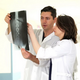 Two Doctors with X-ray Image - VideoHive Item for Sale