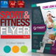 Fitness & Sport Flyer Template Vol.15 - GraphicRiver Item for Sale