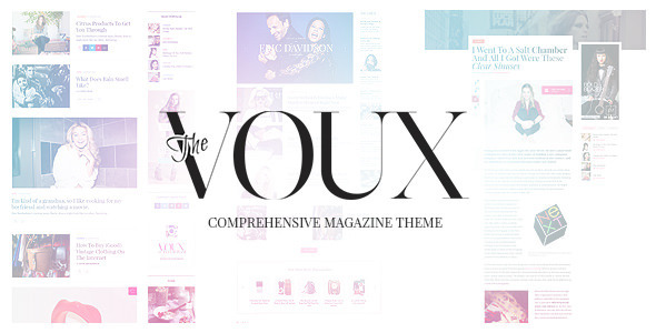The Voux – A Comprehensive Magazine Theme