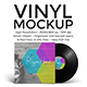 Vinyl and Cover Mockup - GraphicRiver Item for Sale