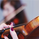 Girls Playing the Violin in the Theater - VideoHive Item for Sale
