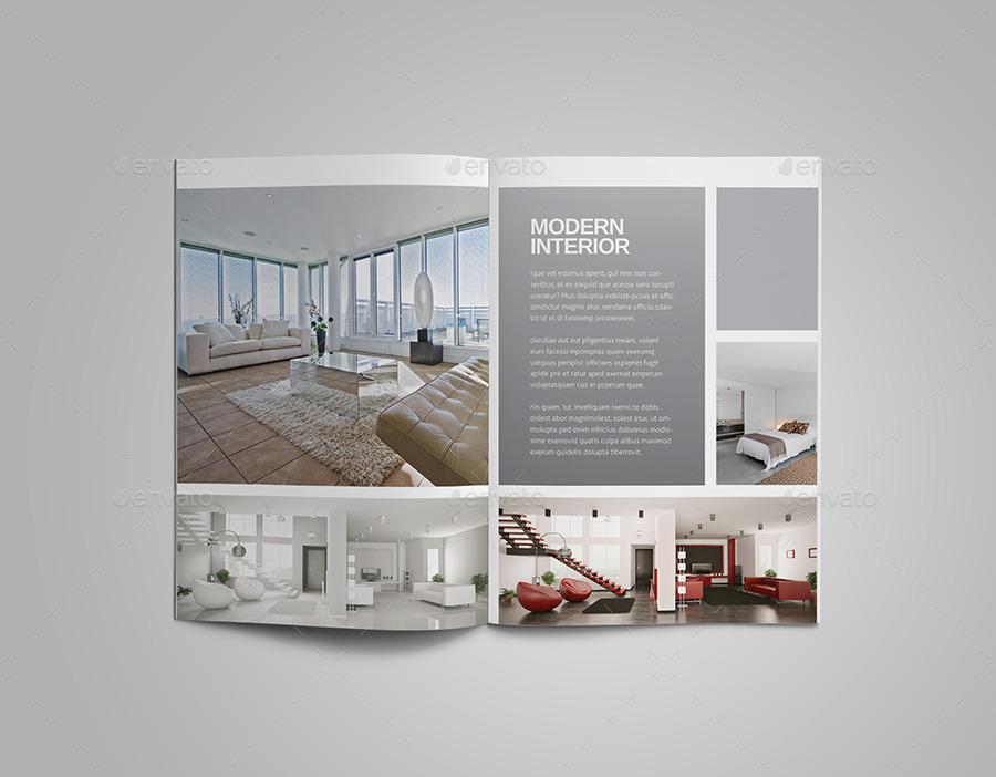 Interior Design Brochure By Meenom