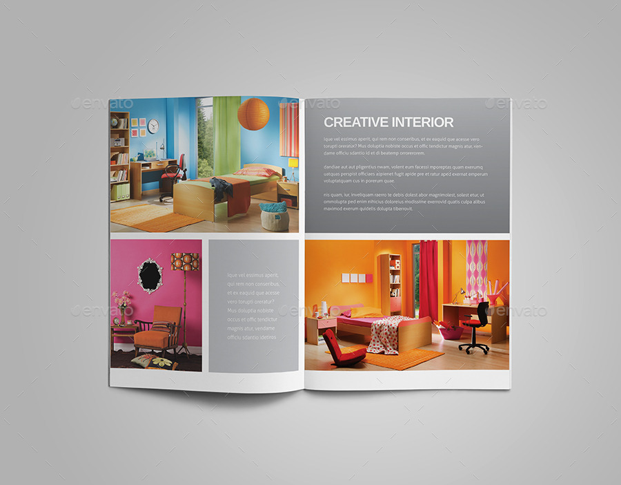 Interior design brochure by meenom graphicriver for Interior design brochures