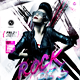 Rock Babes Flyer Template - GraphicRiver Item for Sale