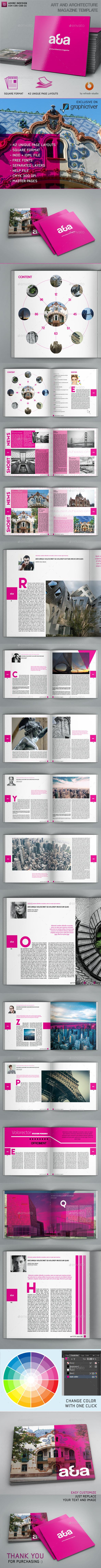 Art and Architecture Magazine - Magazines Print Templates