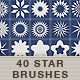 40 + Starbrushes - GraphicRiver Item for Sale