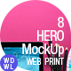 8HERO MockUp Images - GraphicRiver Item for Sale