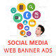 Social Media Marketing Web Banner Ads