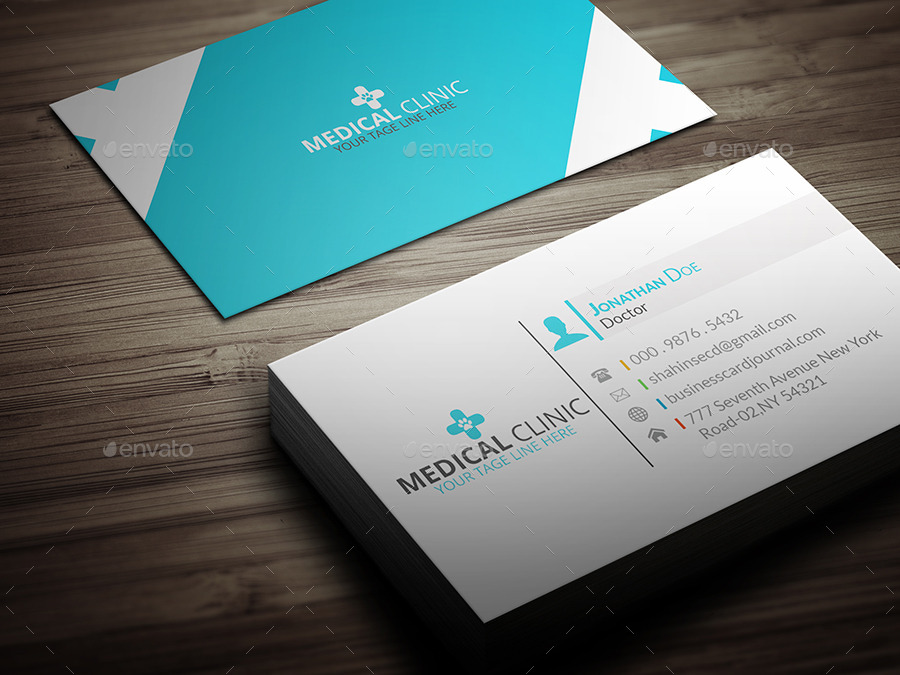 Medical business card template by anchors graphicriver medical business card template corporate business cards 01screenshotg accmission Images