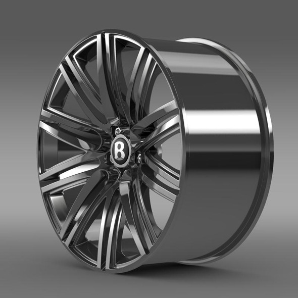 Bentley Continental GT Speed rim - 3DOcean Item for Sale