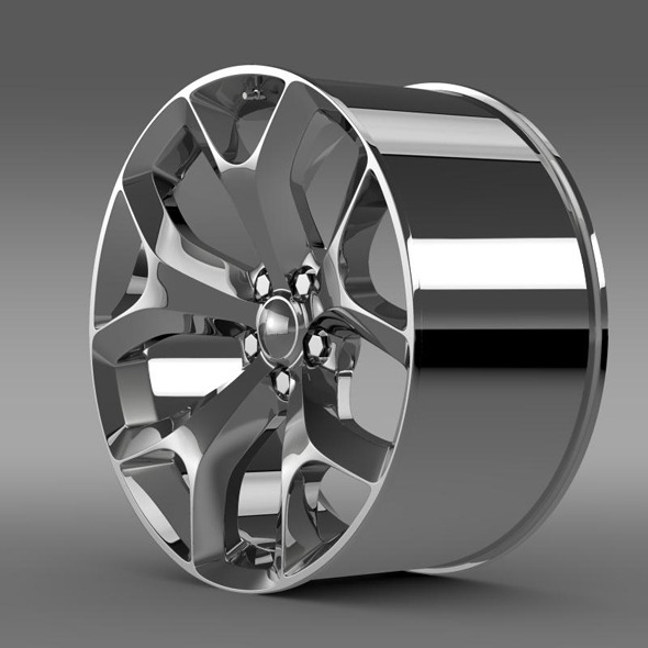 Dodge Challenger SXT rim - 3DOcean Item for Sale