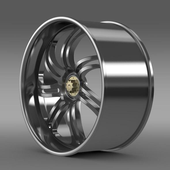 Pagani Huayra Prototype rim - 3DOcean Item for Sale