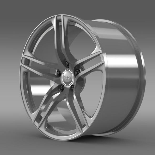 Audi R8 GT rim - 3DOcean Item for Sale