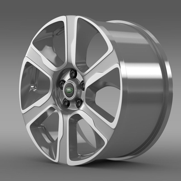 RangeRover Hybrid rim - 3DOcean Item for Sale