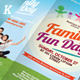 Family Fun Day Trifold Brochures - GraphicRiver Item for Sale