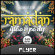 Ramadan Iftaar Party Flyer - GraphicRiver Item for Sale
