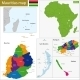 Mauritius Map - GraphicRiver Item for Sale