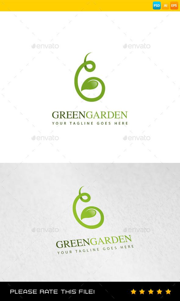 Garden Logo - Nature Logo Templates