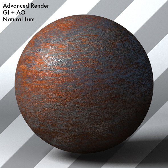 Rusty Metal Shader_001 - 3DOcean Item for Sale