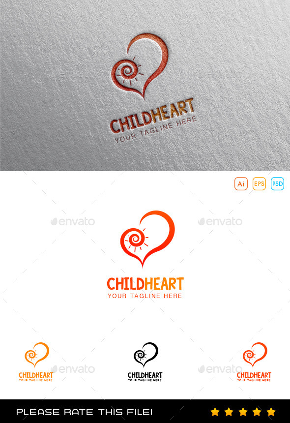 Heart Foundation Logo - Vector Abstract